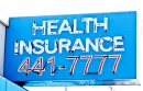 health insurance sign