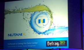 Nutanix slidedeck at DefragCon | @GraemeThickins via Twitter.
