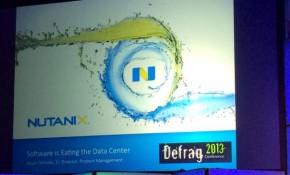 Nutanix slidedeck at DefragCon | @GraemeThickins via Twitter.
